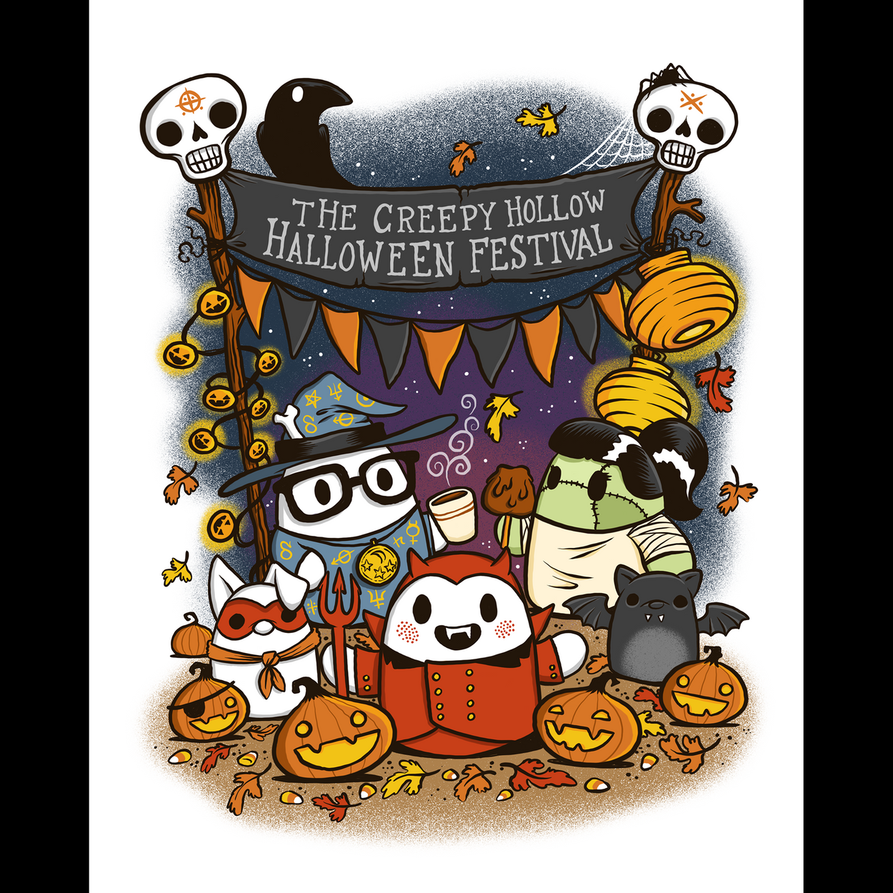 Creepy Hallow Halloween Festival - Print (NYCC Exclusive)
