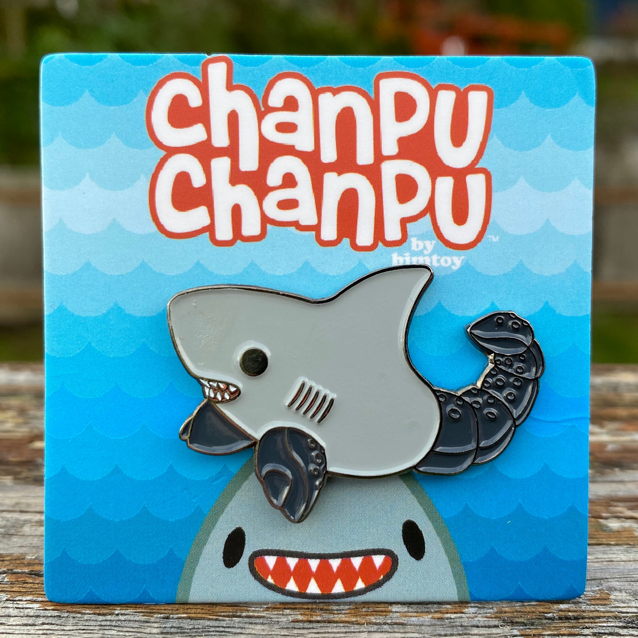Chanpu Chanpu (Scorpion) Enamel Pin