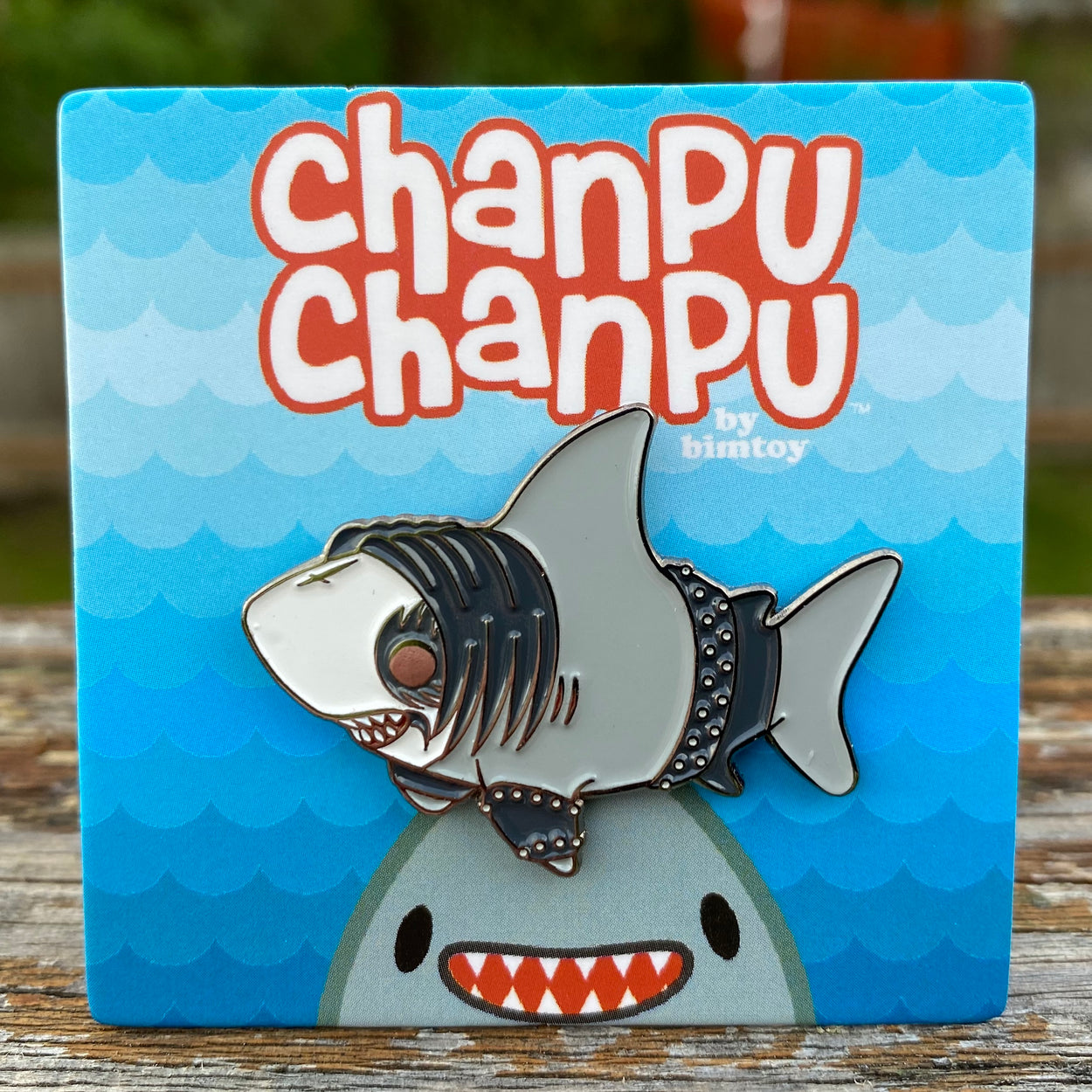 Chanpu Chanpu (Heavy Metal) Enamel Pin