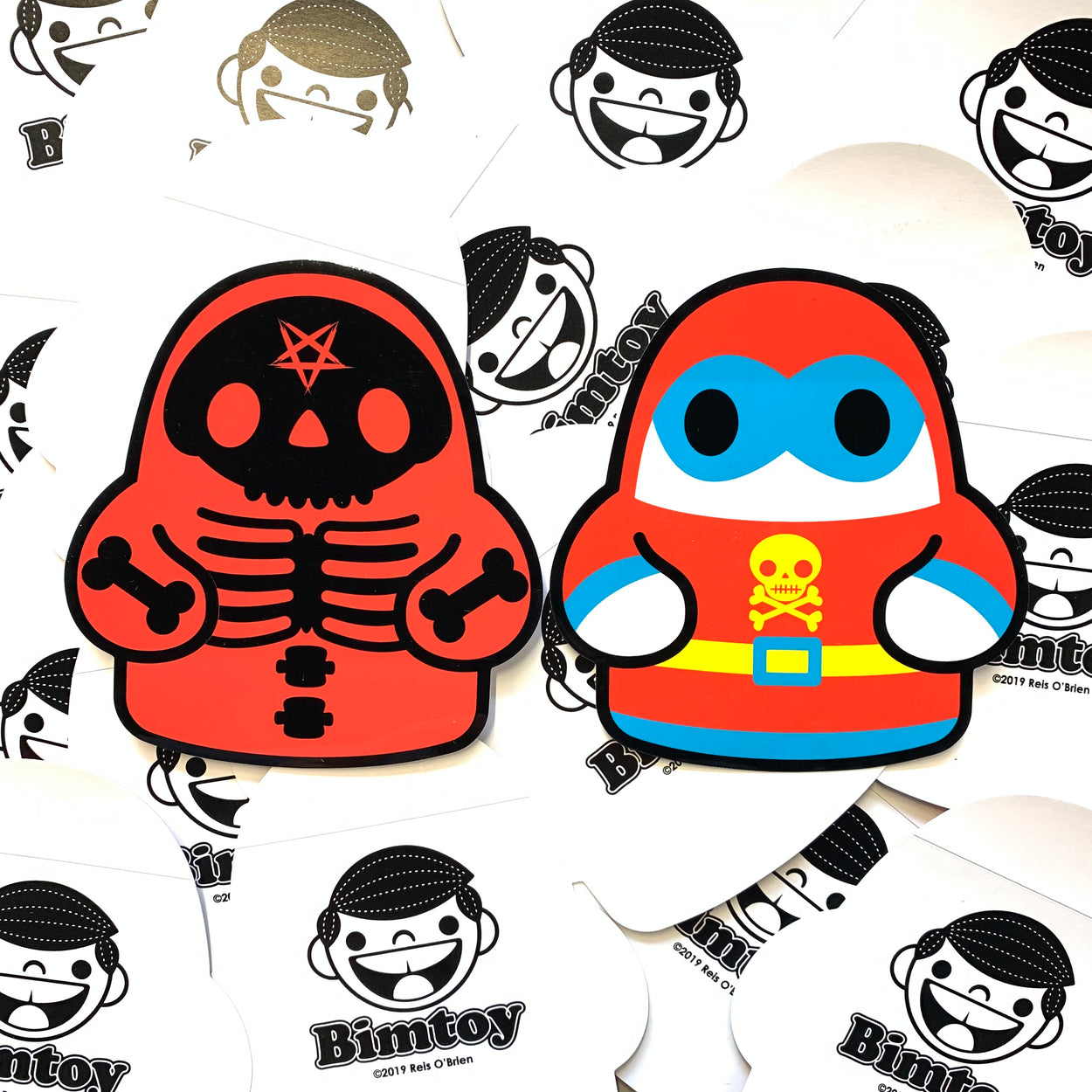 Tiny Ghost (Devil Bones & Super Ghost) LE Sticker Pack