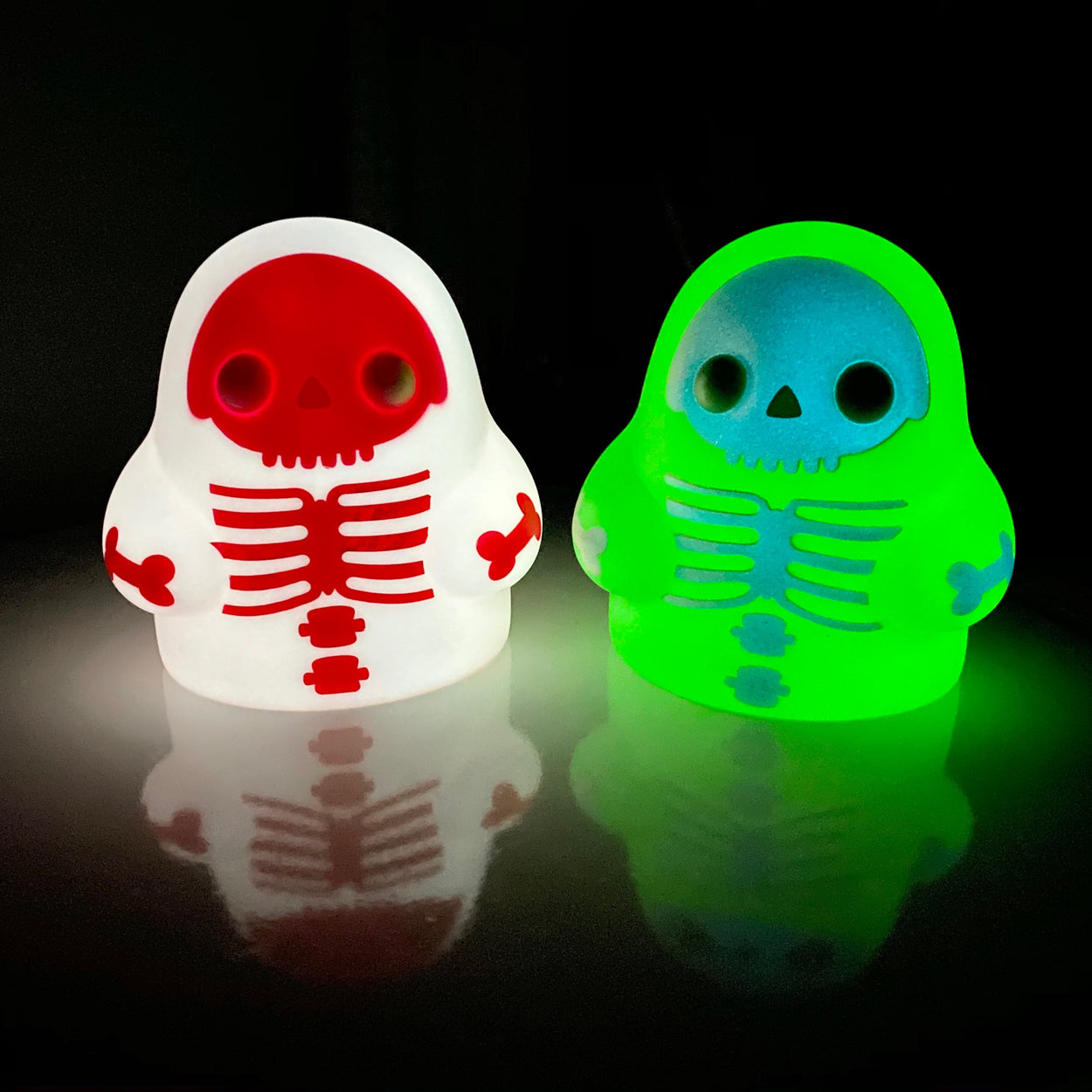 "Tiny Ghost 3"" (Skeleton) 3-Pack"