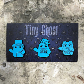 Hitchhiking Ghosts (GID) LE Enamel Pin Set