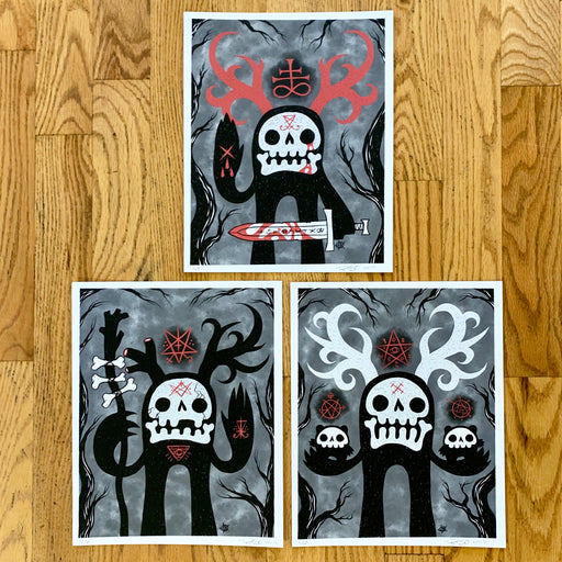 Wäldgeist (Warrior, Mother & Shaman) Print Set