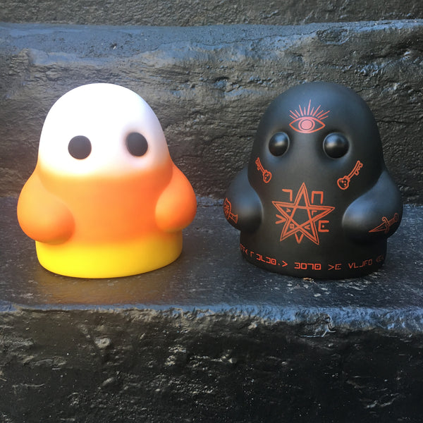 Tiny Ghost (Candy Corn & Death Cult) SET