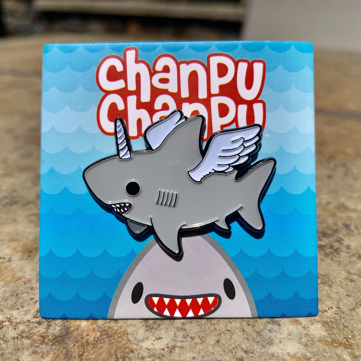 Chanpu Chanpu (Pegacorn) Enamel Pin