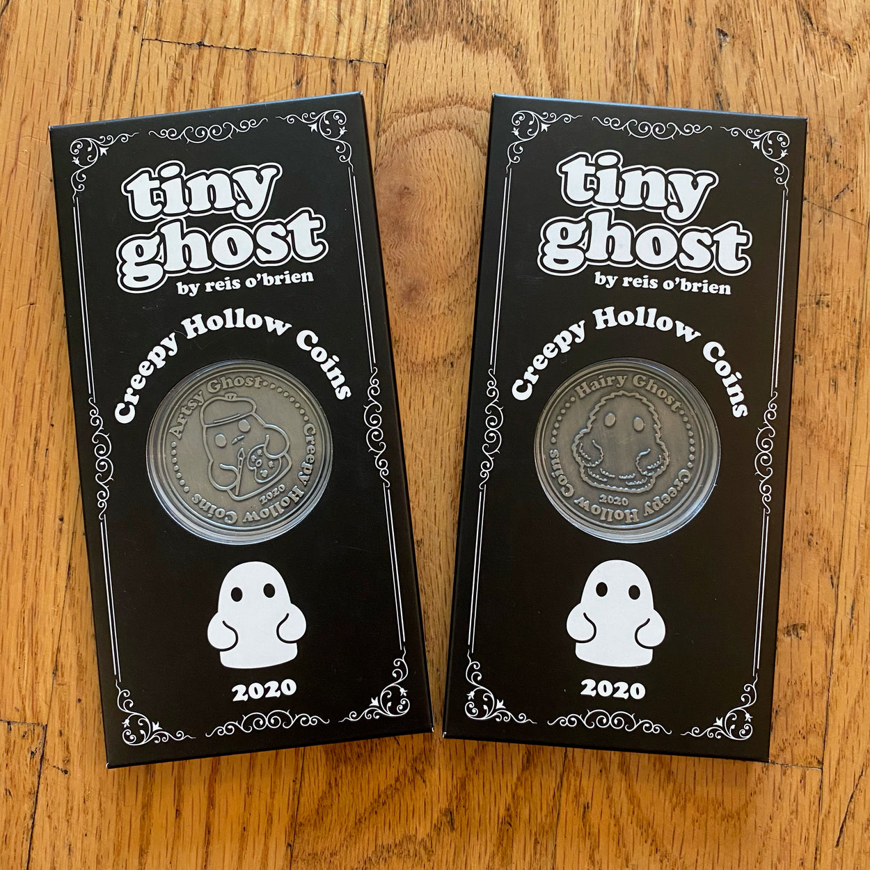 Creepy Hollow (Hairy & Artsy) Collectible Coins