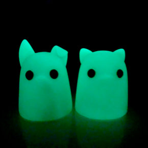 Tiny Ghost (Puppy & Kitty Glow)