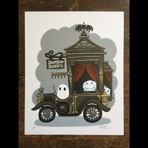 """Creepy Hollow Delivery Co."" Print"