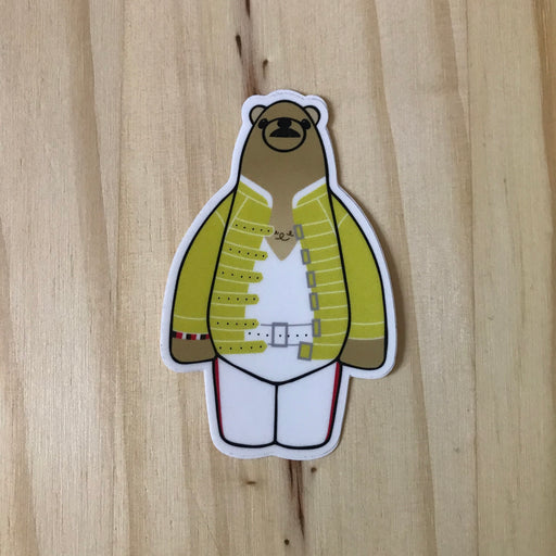 Mr. Bearenheit - Sticker