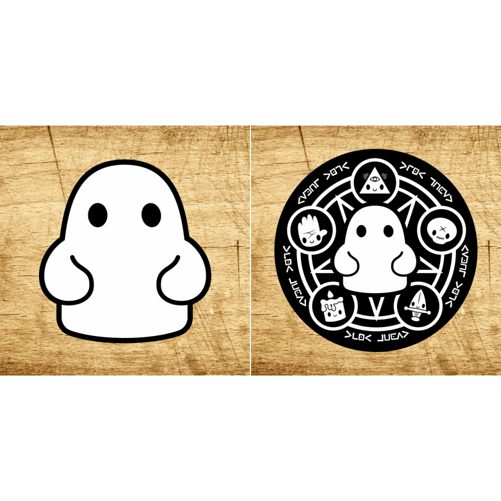 Tiny Ghost OG & Occult Sticker Pack