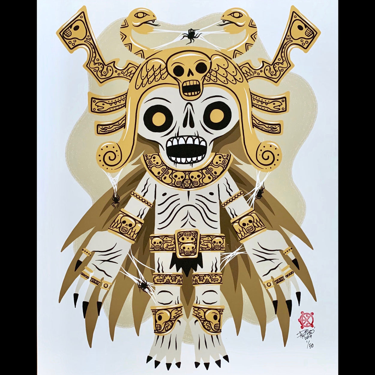 Creeptoids (Tomb Guardian) Print