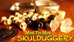 Mint Tin Mini Skulduggery - available May 2nd