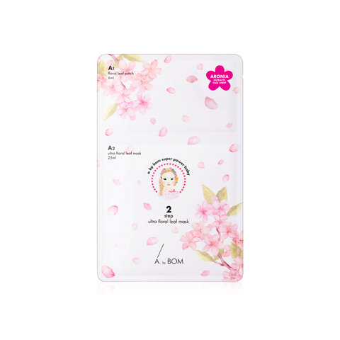 A. by BOM 2 Step Ultra Floral Leaf Mask | SKINiD.se