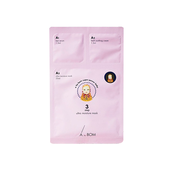 A. by BOM 3 Step Ultra Moisture Mask | SKINiD.se