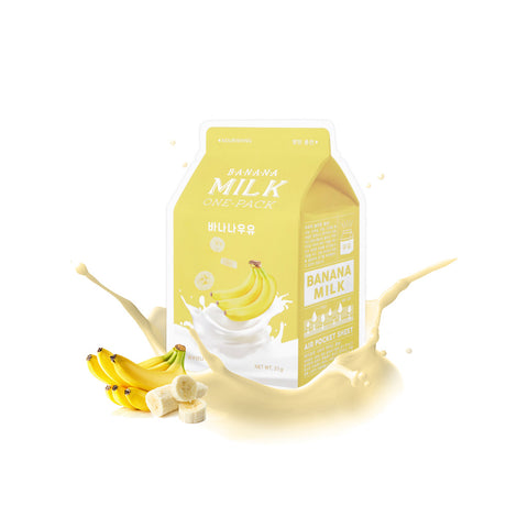 A'pieu Milk One Pack - Banana Milk | SKINiD.se