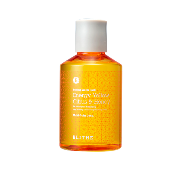 Blithe Splash Mask Yellow Citrus & Honey | SKINiD.se