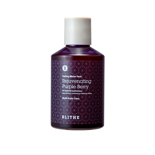 Blithe Splash Mask Rejuvenating Purple Berry | SKINiD.se