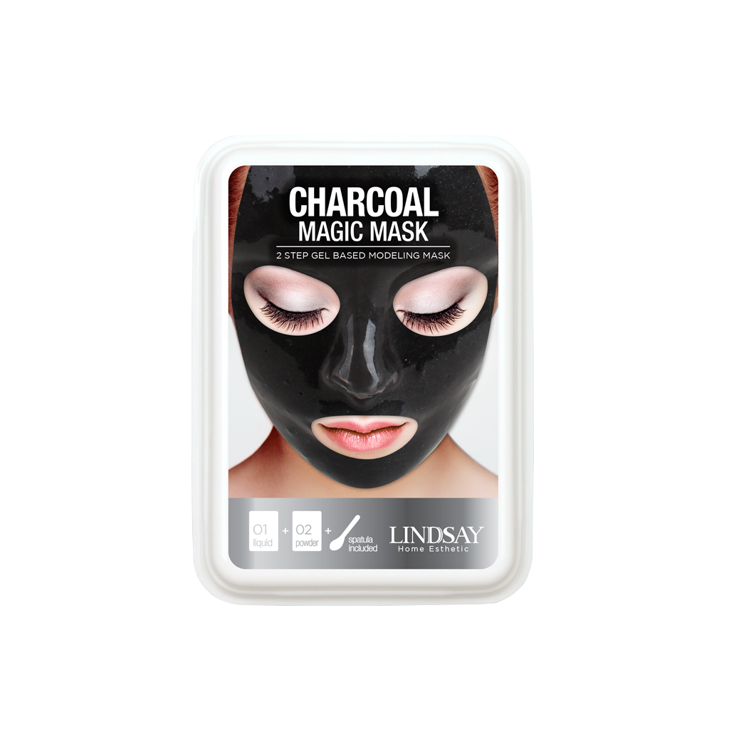 Lindsay Charcoal magic mask cup | SKINiD.se