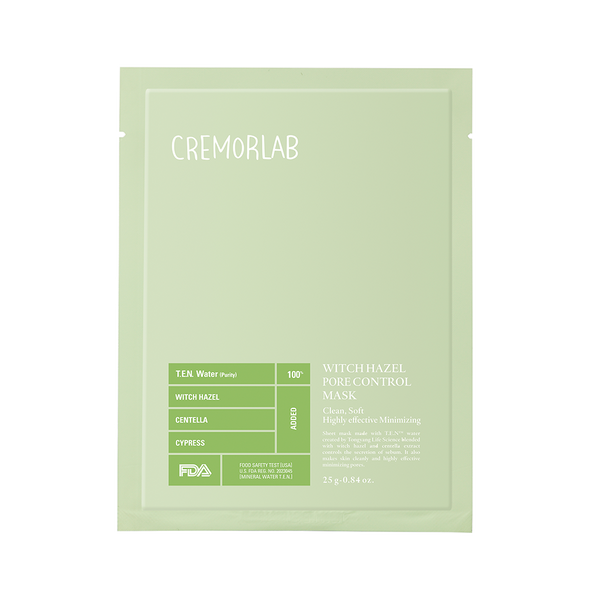 Cremorlab Witch Hazel Pore Tightening Mask | SKINiD.se