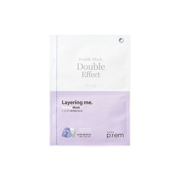 Make P:rem Firming Layering Double Sheet Mask | SKINiD.se