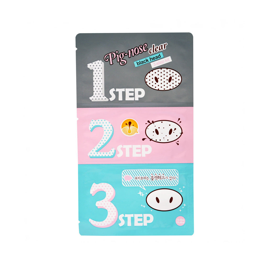 Holika Holika Pig Nose Clear Blackhead 3-Step Kit | SKINiD.se