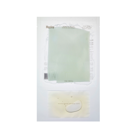 Huxley Oil & Extract Sheet Mask | SKINiD.se
