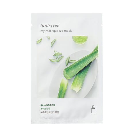 Innisfree It's Real Squeeze Mask -Aloe | SKINiD.se