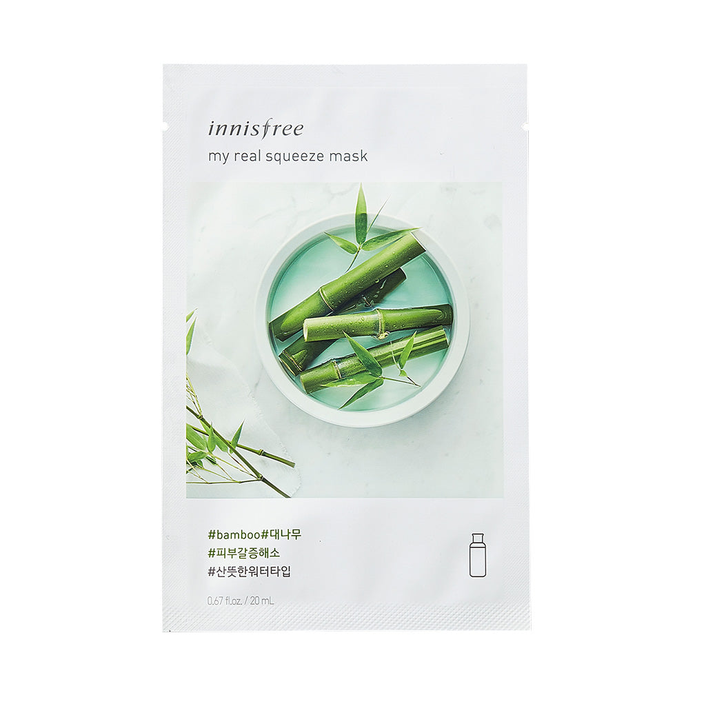 Innisfree My Real Squeeze -Bamboo | SKINiD.se