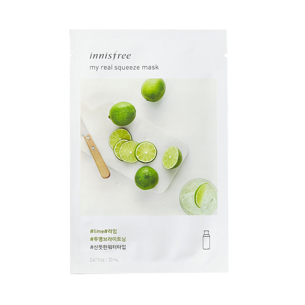 Innisfree My Real Squeeze -Lime | SKINiD.se