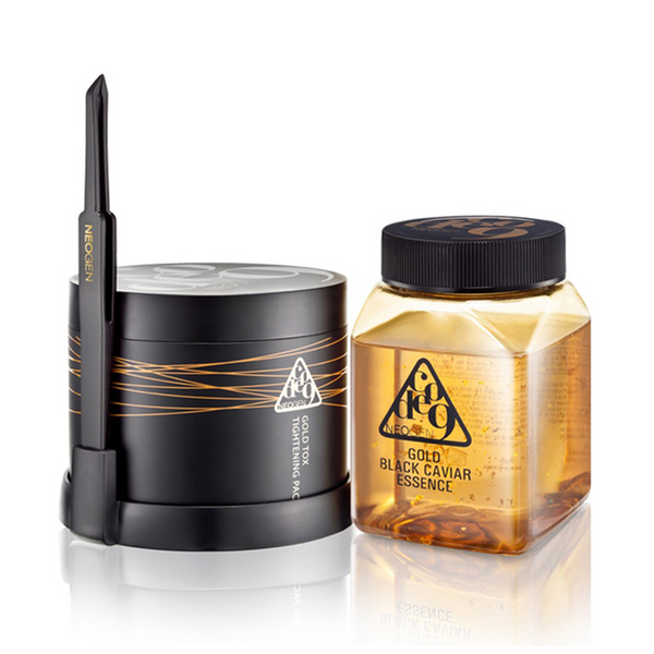 Neogen Gold Black Caviar Essence & Tox Tightening Pack Kit | SKINiD.se