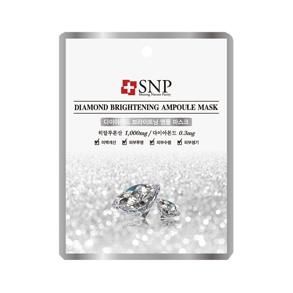 SNP Diamond Brightening Ampoule Mask |SKINiD.se