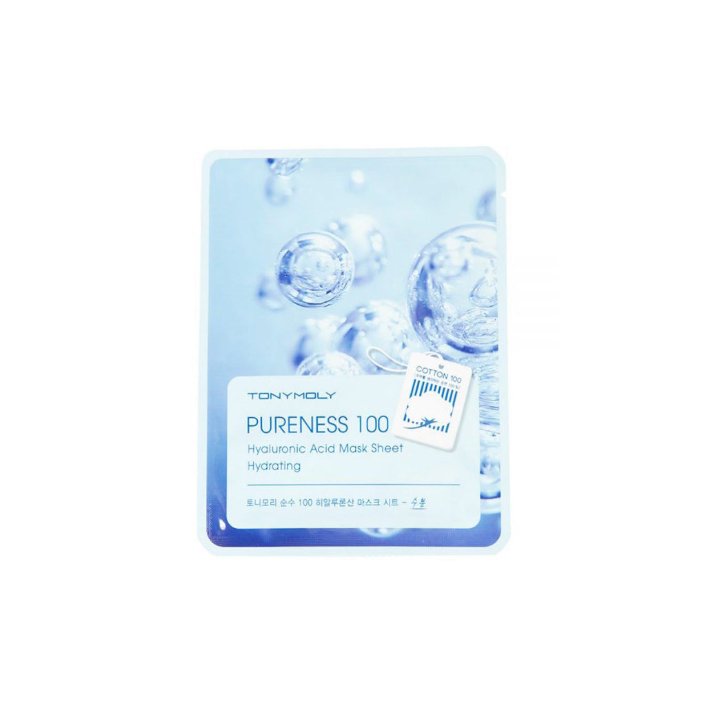 Tony Moly Pureness 100 Mask Sheet Hyaluronic Acid | SKINiD.se