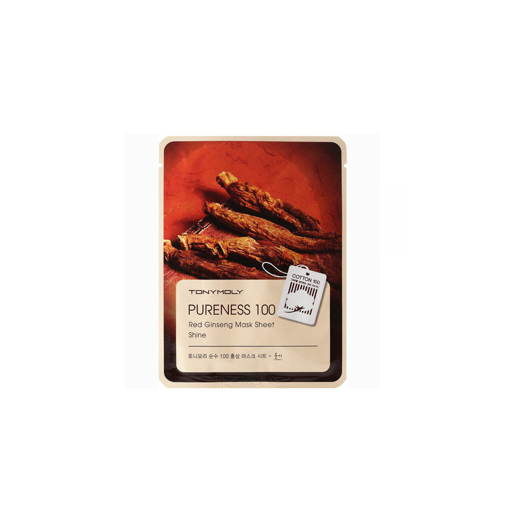 Tony Moly Pureness 100 Mask Sheet Red Ginseng | SKINiD.se