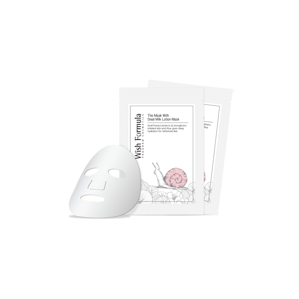 Wish Formula Snail Milk Lotion Sheet Mask | SKINiD.se
