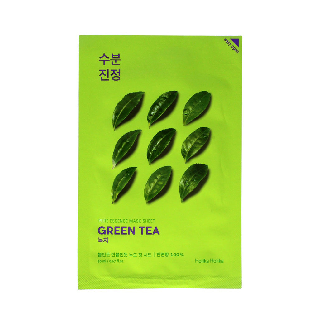 Holika Holika Pure Essence Mask Sheet - Green Tea | SKINiD.se