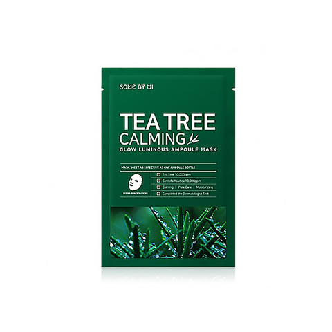Some by mi Tea Tree Calming Glow Luminous Ampoule Mask | SKINiD.se