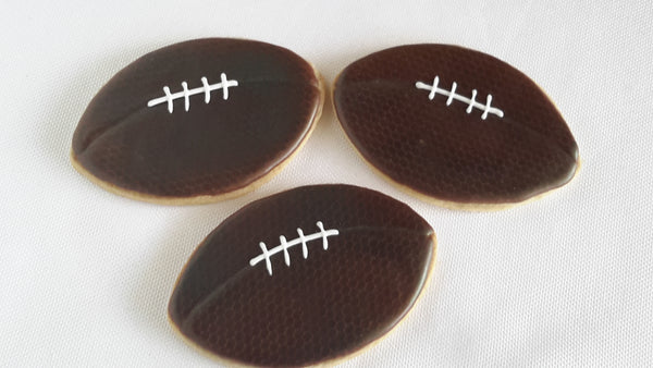 Football Cookies - 12 Pcs