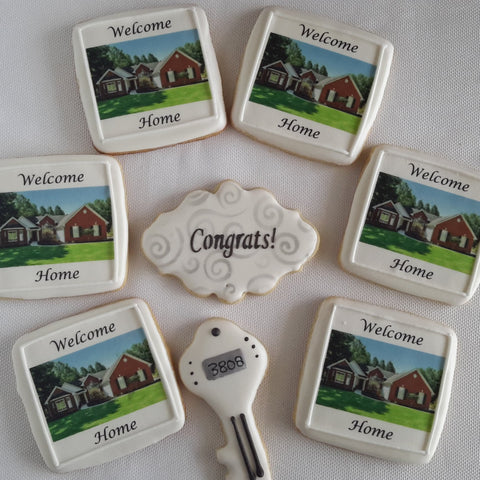 New Homeowner Cookies - 12 pcs