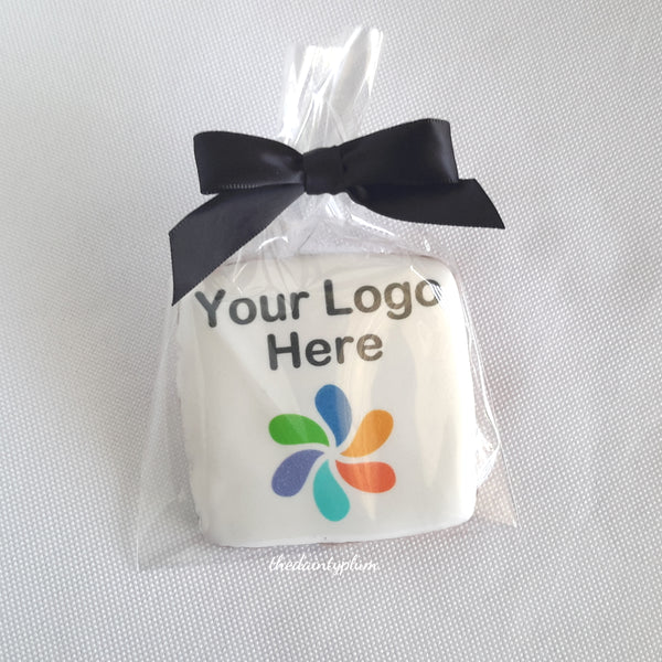logo cookie, branded cookie, corporate cookie