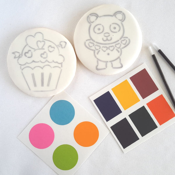 Paint Your Own (PYO) Cookies - 6 Count