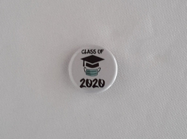 2020 graduation button pin