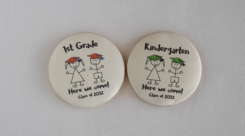 Pre-K and Kindergarten graduation cookies