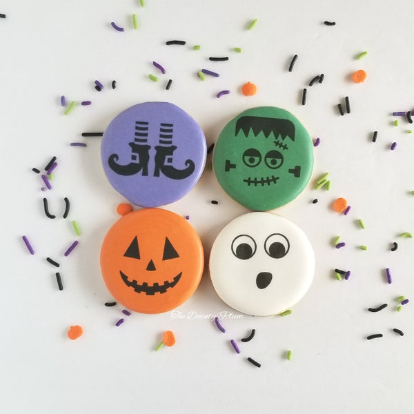 Halloween cookies, mini cookies