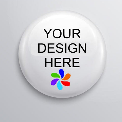 custom button pin, custom zipper pull, custom button pin magnet, pin back button