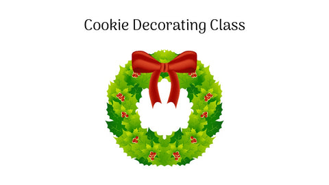 Christmas Cookie Decorating Class - Saturday, Dec 12th