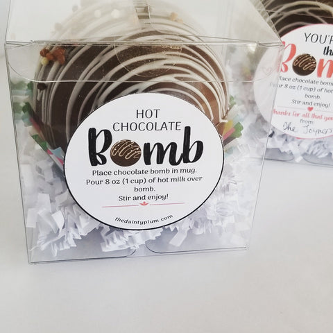 Hot Chocolate Bombs - Individual Packs
