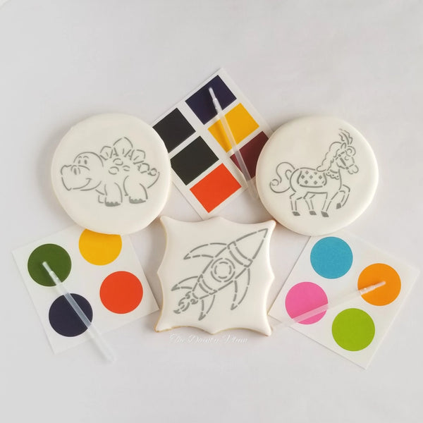 Paint Your Own (PYO) Cookies (6 Pcs)