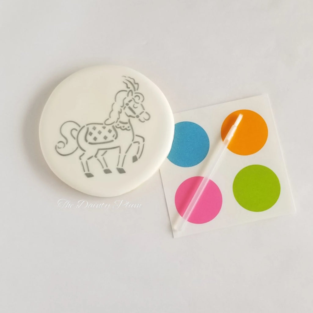 Paint You Own (PYO) Cookies Horse