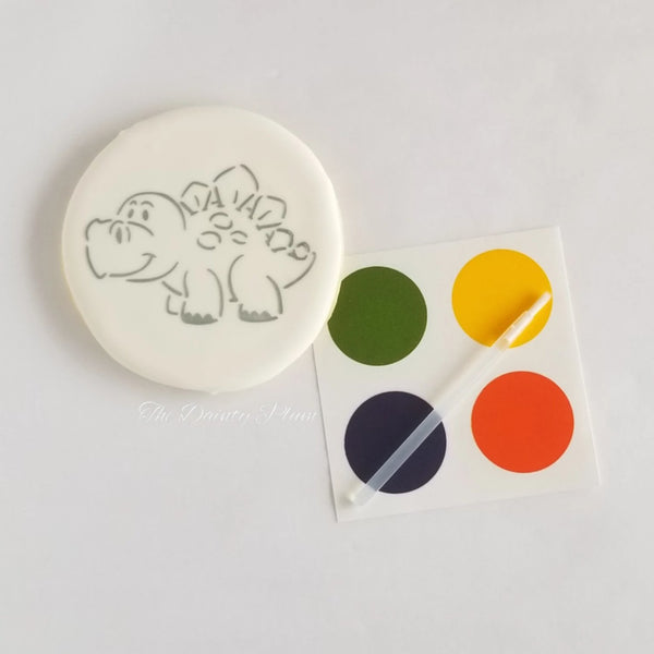 Paint You Own (PYO) Cookies Dinosaur