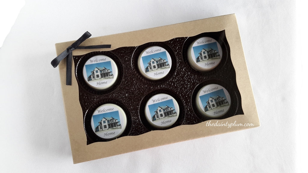 Housewarming / New Homeowner Chocolate Covered Oreos®  - 6 Pack Box